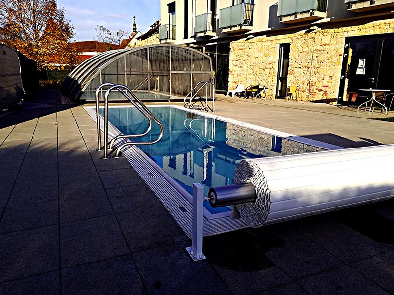 Przemysłowa filtracja basenowa – Hotel Termalny