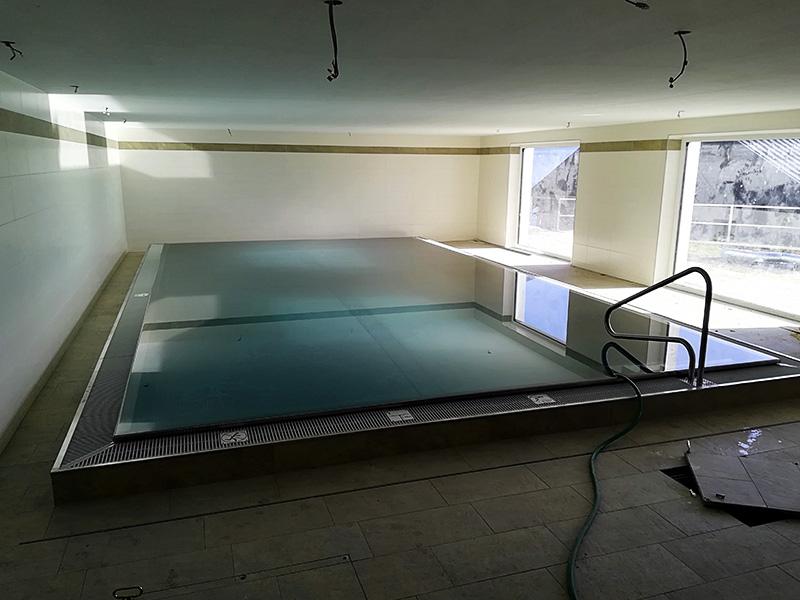 Przemysłowa filtracja basenowa – ośrodek wypoczynkowy