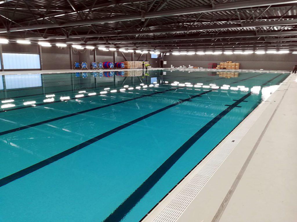 Przemysłowa filtracja basenowa – Centrum sportowe